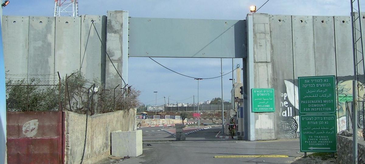 GB 18-3 Mauer zwischen Israel und Palästina