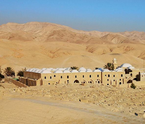 GB 18-3 Arab. Gebäude in der judäischen Wüste